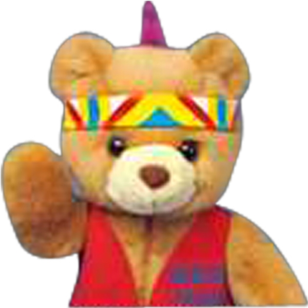 Indian Headdress Accessory For Stuffed Animal. Blank Photo