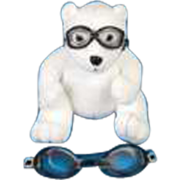 Black Goggles Accessory For Stuffed Animal. Blank Photo