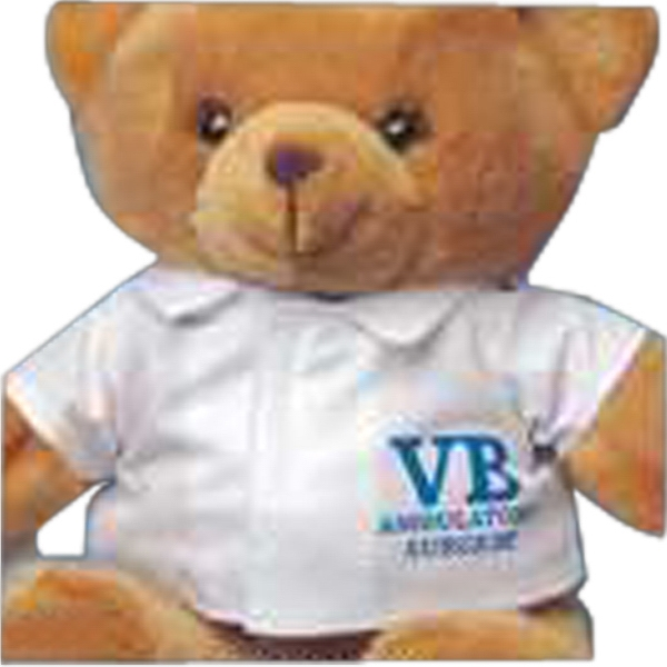 Small Lab Coat For Stuffed Animal. Blank Photo