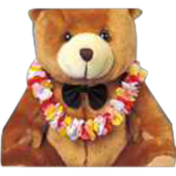 Hawaiian Lei Accessory For Stuffed Animal. Blank Photo