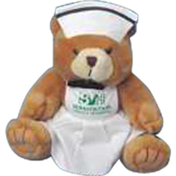 Small Nurses Uniform For Stuffed Animal. Blank Photo
