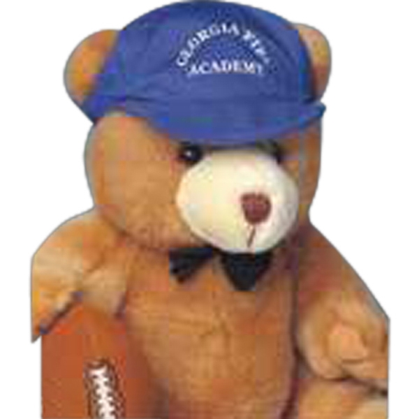 "4"" Football For Stuffed Animal. Blank Photo"