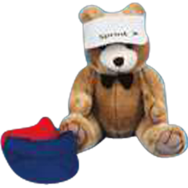 M - Sun Visor Accessory For Stuffed Animal, Blank Photo