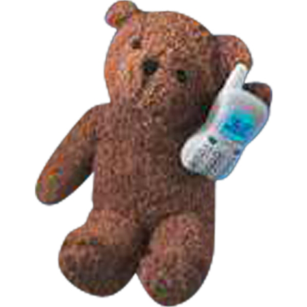 Cell Phone Accessory For Stuffed Animal, Blank Photo