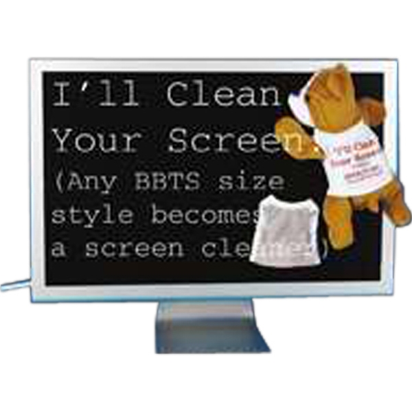 Screen Cleaning Tee Shirt For Stuffed Animal, Blank Photo