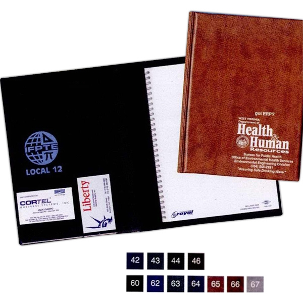 Spiral Bound Heat Sealed Diary With A Foam Cushioned Cover Photo