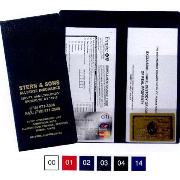 Policy And Document Holder With 4 Clear Pockets Photo