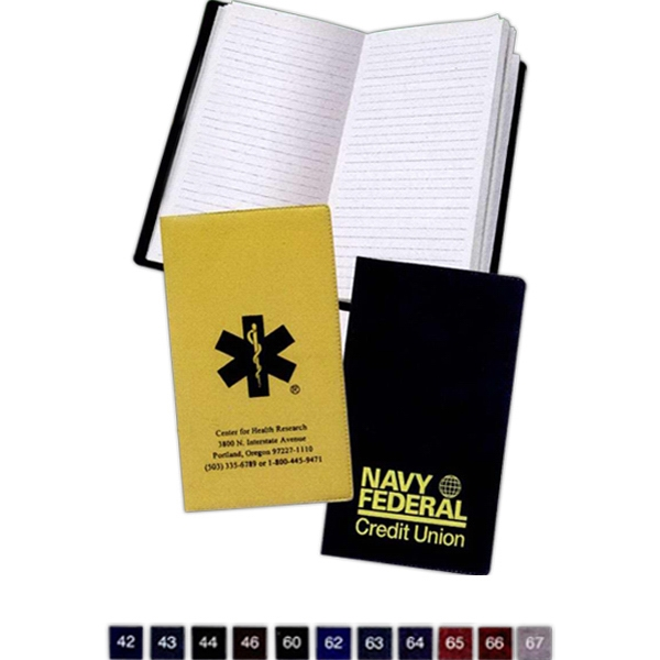Tally Book With Executive Vinyl Soft Cover Photo