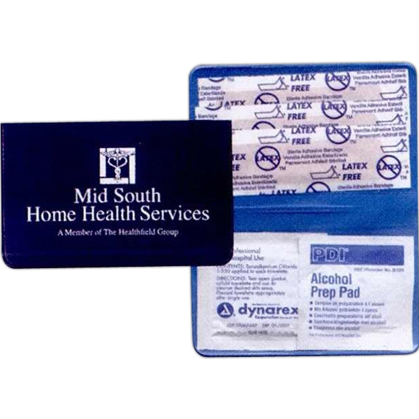 "Pocket First Aid Kit Includes Three (3) 1"" X 3"" Bandages Photo"
