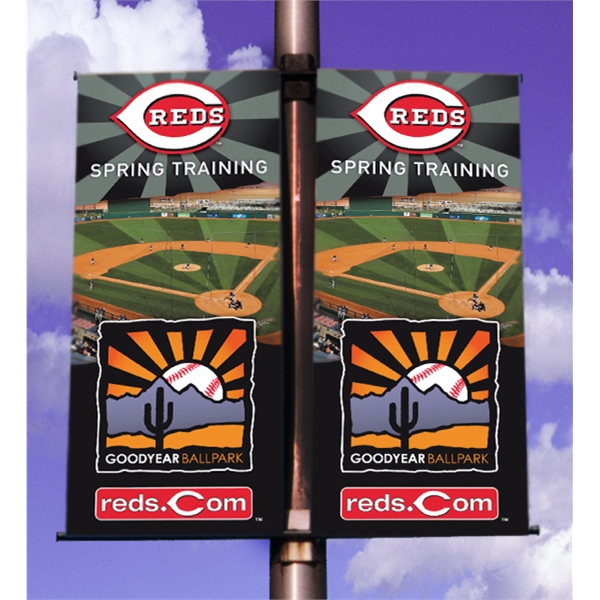 Double Sided Pole Banner 24