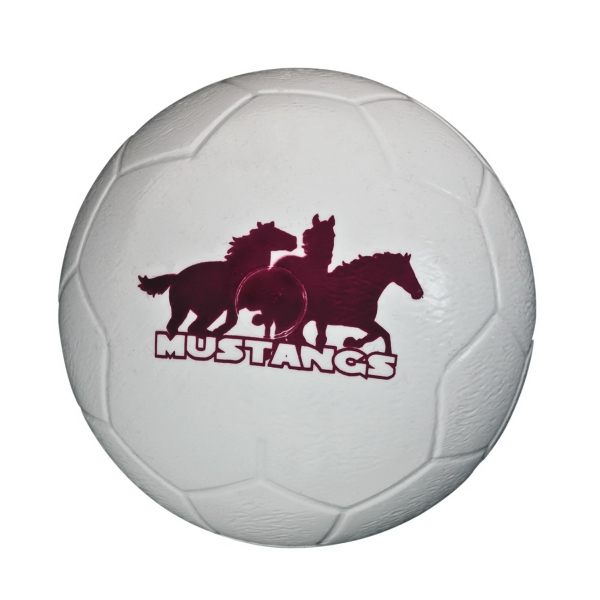 Mini Plastic Soccer Ball With Authentic Detail, Durable And Lightweight Photo