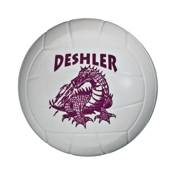 Mini Plastic Volleyball With Authentic Detail, Durable And Lightweight Photo