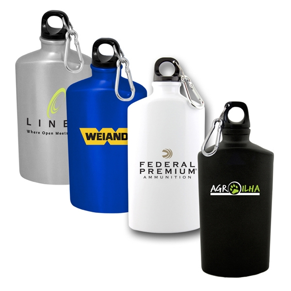 Kailua - 50 Working Days - A 22 Ounce Aluminum Water Flask With A Screw Top Lid Photo