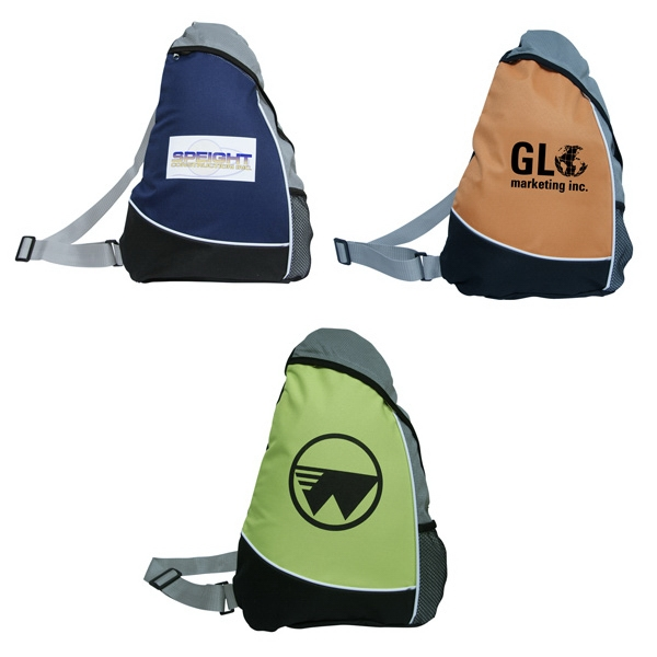 Bag Designs (tm) - 600 Denier Polyester Sling Bag, Webbed Adjustable Shoulder Strap Photo