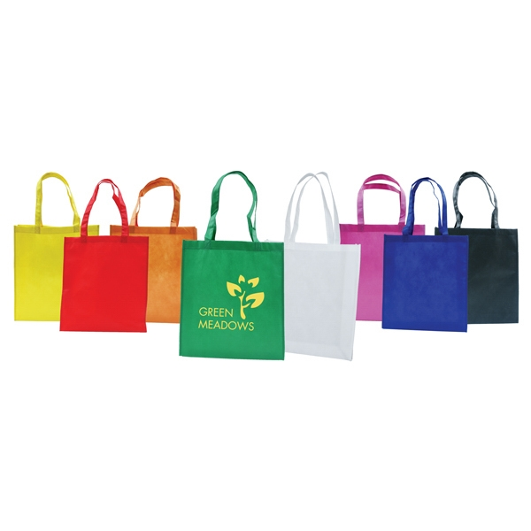 Bag Designs (tm) - Eco-friendly Show/tote Bag, Reinforced Self Stitched Self Fabric Handles Photo