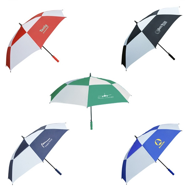 Double Canopy Golf Umbrella Photo
