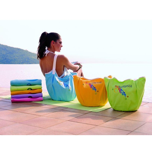 "Coastal Bag (tm) - Colorfusion (tm) Transfer - Bag Made From Cotton Twill & Has A Round Gusset 20""w X 16""h X 9""d Photo"