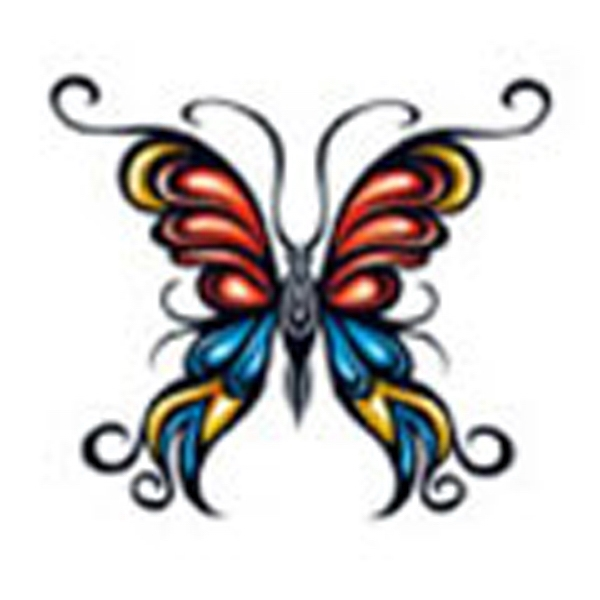 Butterfly 15, Stock Tattoo Designs Photo