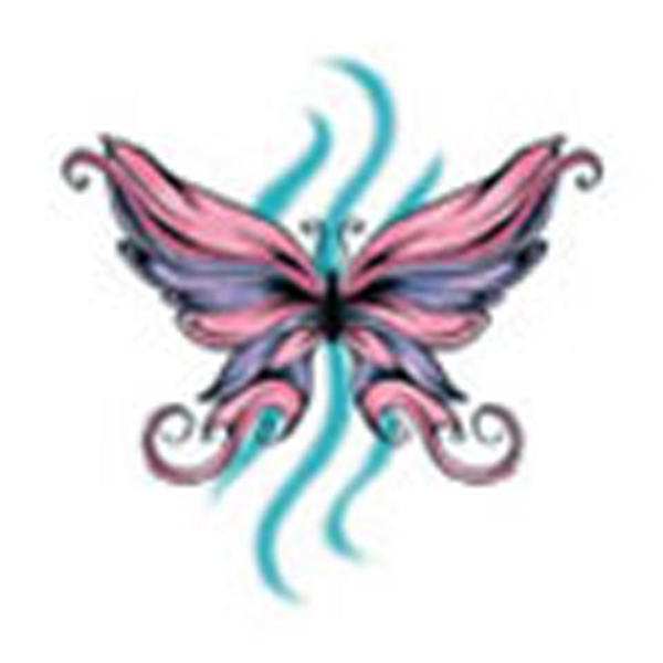 Butterfly 22, Stock Tattoo Designs Photo