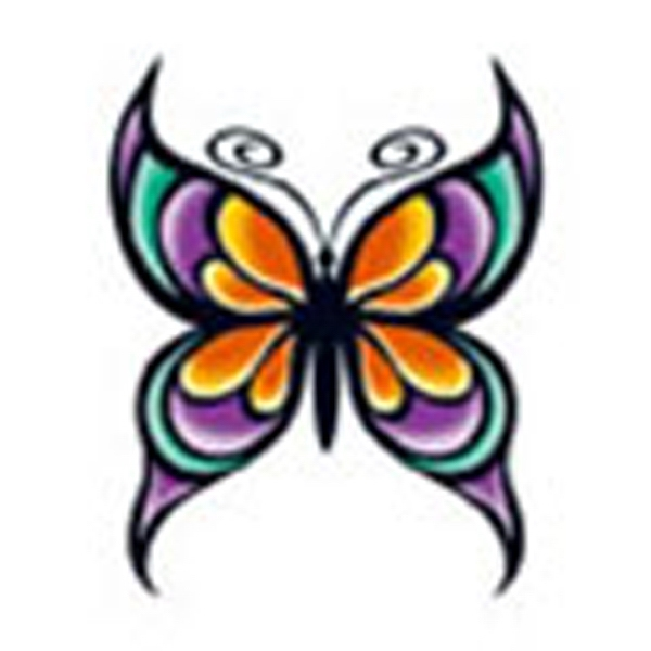 Butterfly 25, Stock Tattoo Designs Photo