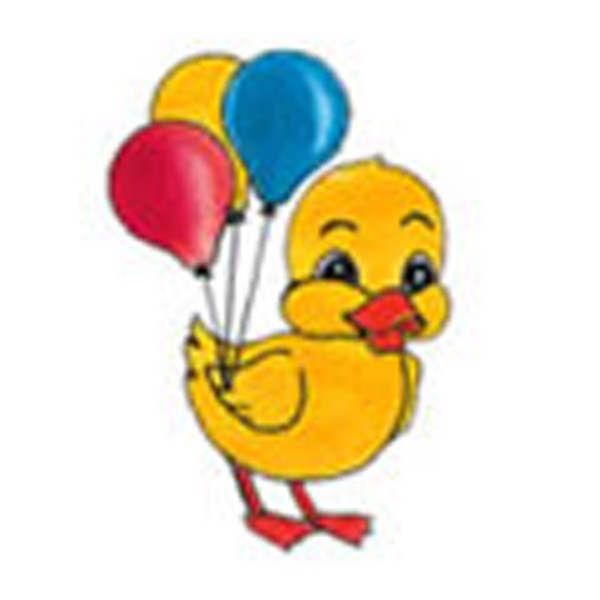 Duck With Balloons, Stock Tattoo Designs Photo