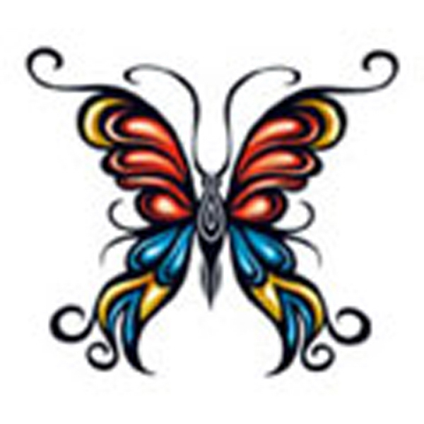 Butterfly 14, Stock Tattoo Designs Photo