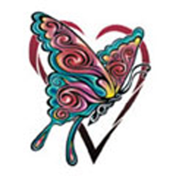 Butterfly 13, Stock Tattoo Designs Photo