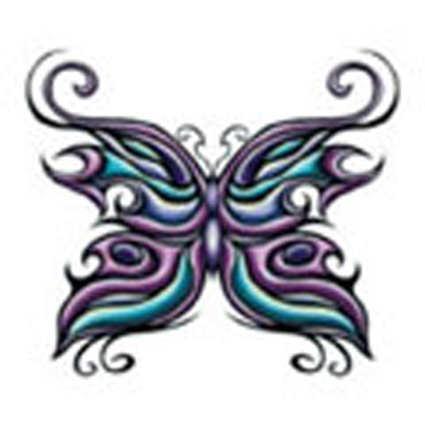 Butterfly 18, Stock Tattoo Designs Photo