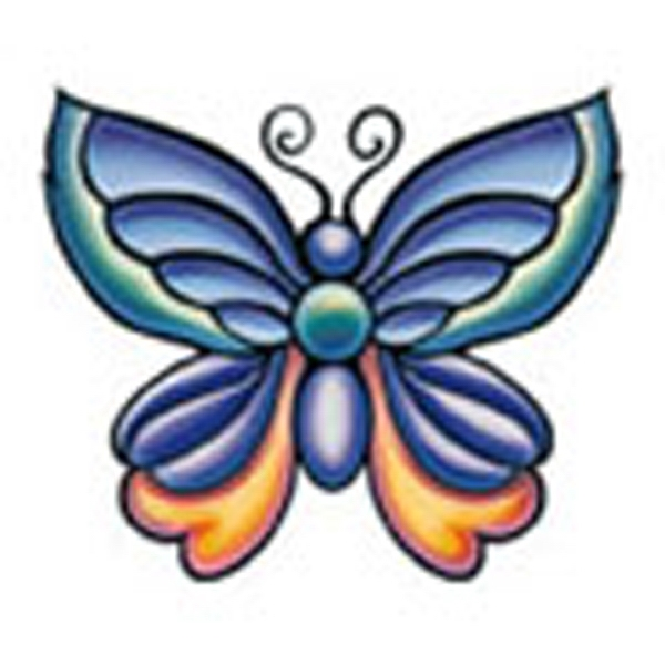 Butterfly 23, Stock Tattoo Designs Photo