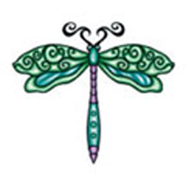 Dragonfly 3, Stock Tattoo Designs Photo