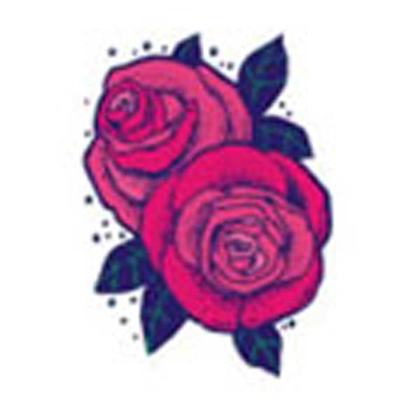 2 Roses, Stock Tattoo Designs Photo