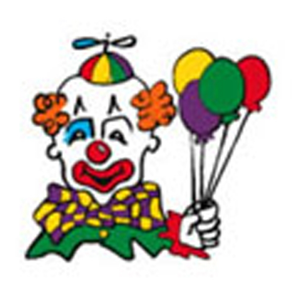 Clown Balloons, Stock Tattoo Designs Photo