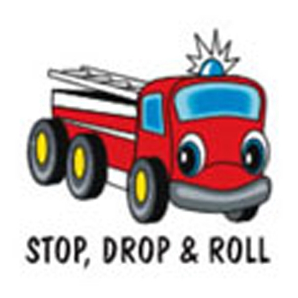 Stop Drop & Roll Stock Tattoo Designs Photo