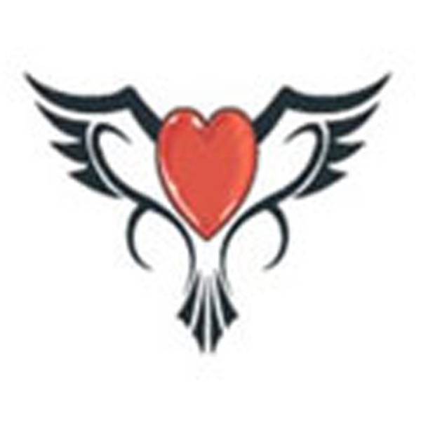 Bird Heart, Stock Tattoo Designs Photo