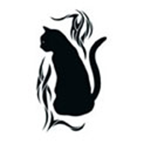 Black Cat, Stock Tattoo Designs Photo