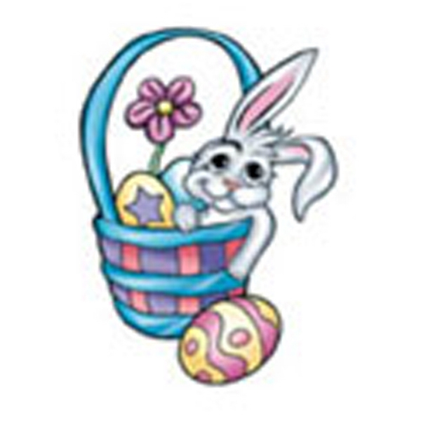 Bunny Basket, Stock Tattoo Designs Photo