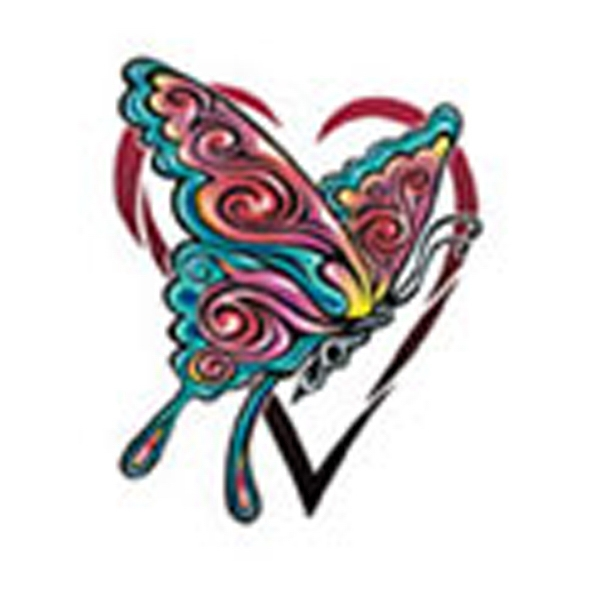 Butterfly 17, Stock Tattoo Designs Photo