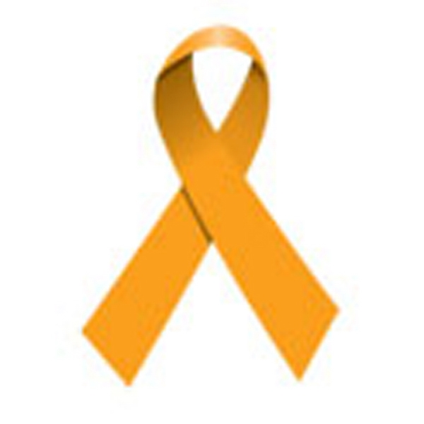 Orange Ribbon, Stock Tattoo Designs Photo