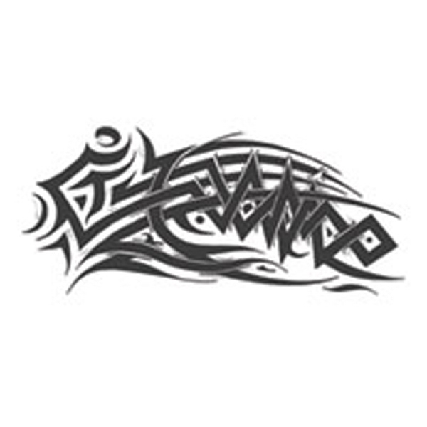 Celtic Tribal Zug Stock Temporary Tattoo Photo