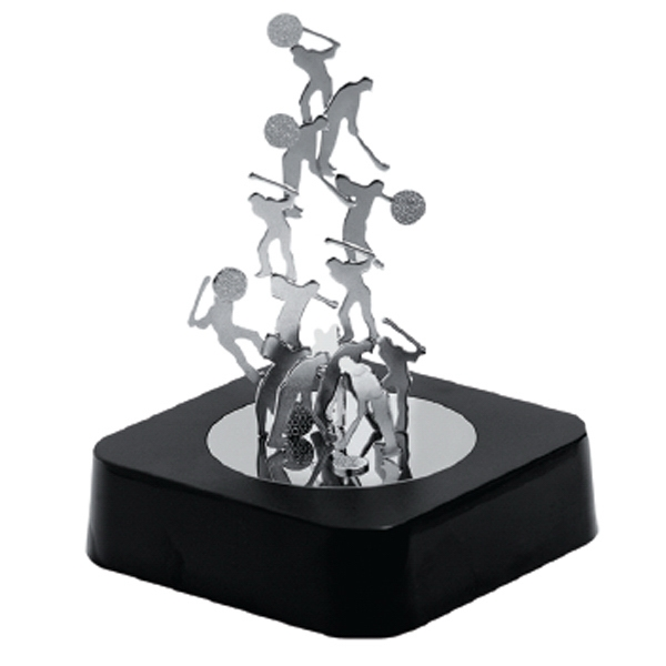 Golf - Magnetic Sculpture Block With Metal Pieces Photo