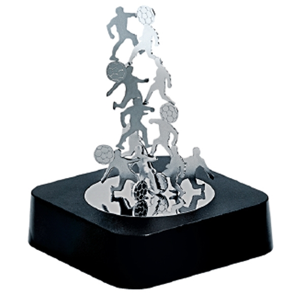 Soccer - Magnetic Sculpture Block With Metal Pieces Photo