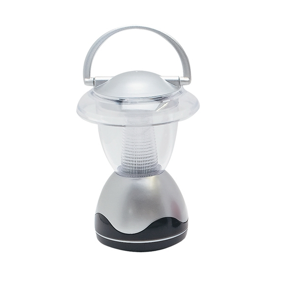 Silver Lantern Light With 3 Aa Batteries Included Photo