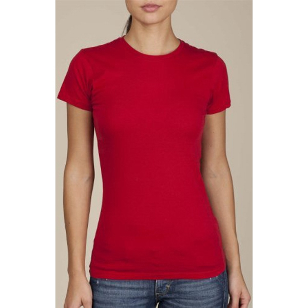 Colors - Women's Basic Crew T-shirt Made Of Cotton Jersey Photo