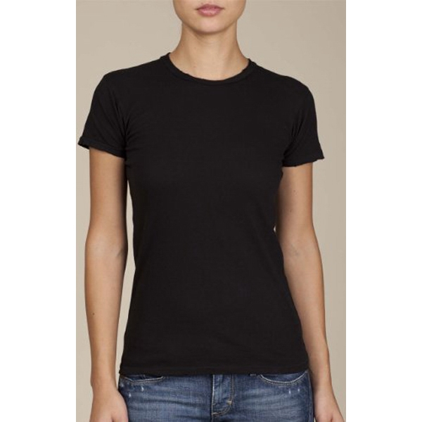 Women's Destroyed T-shirt Made Of 100% Cotton Jersey Photo