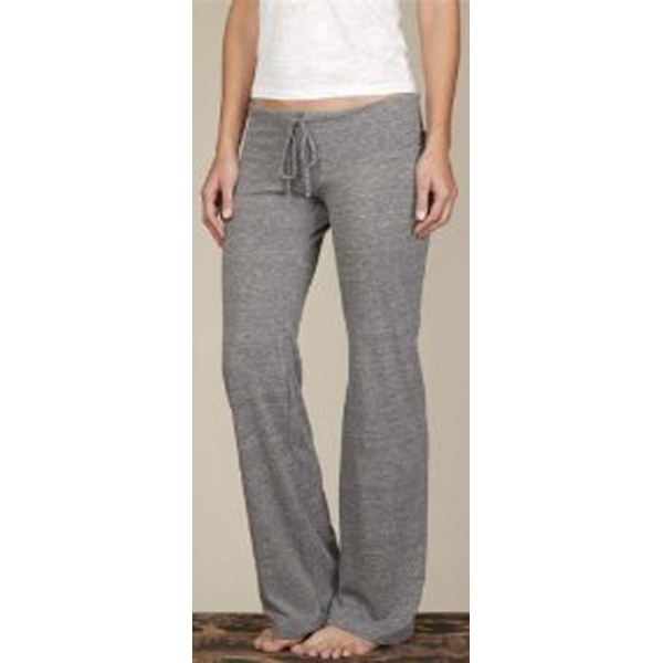 Gray - Women's Eco-heather Wide-leg Long Pants Photo