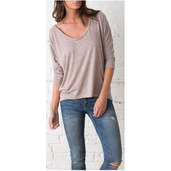 Women's Long Sleeve Top, 50% Rayon/50% Polyester Photo