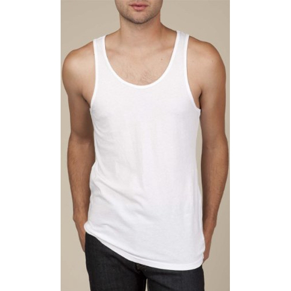 Miggy - 2 X  - Men's Cotton Jersey Tank, Garment Dyed And Washed Photo