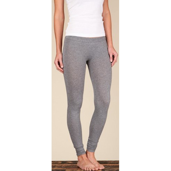 Women's Oxford Gray Heather Full Length Super Stretchy Leggings Photo