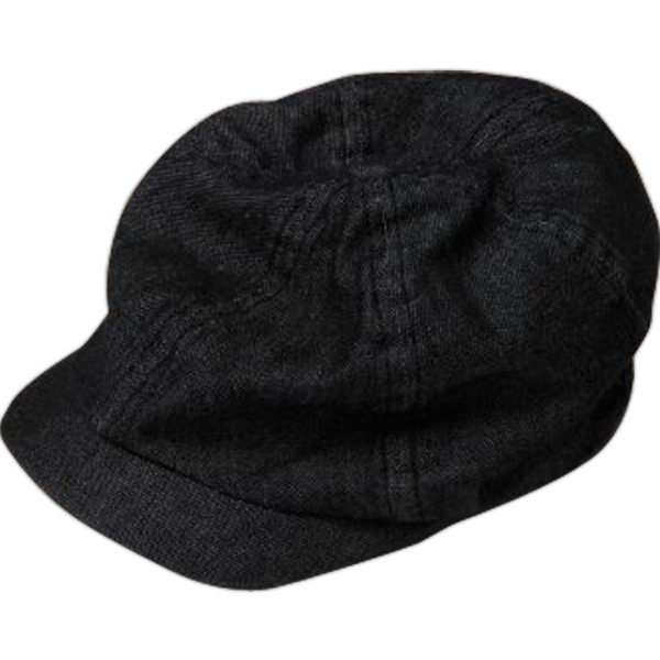 Babe - Unisex Super Soft Newsboy Cap With Slouchy Silhouette Photo