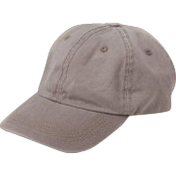 Unisex Basic Chino Twill Cap Photo